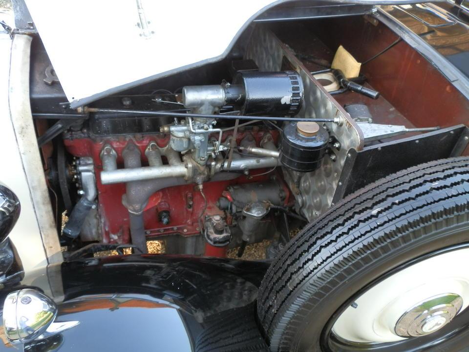 1938 Armstrong-Siddeley 17hp Redfern Tourer  Chassis no. U1437