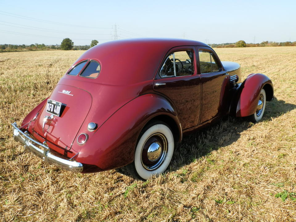 1941 Graham-Paige Model 113 Supercharged Hollywood Sedan  Chassis no. 710124