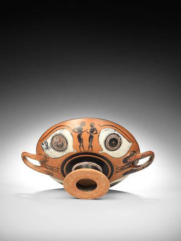 An Attic black-figure eye cup