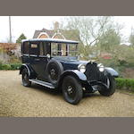 1928 Dodge 'Fast Four' Landaulette  Chassis no. A983024 Engine no. D1056541