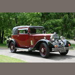 1933 Morris Isis 17.7hp Coupé  Chassis no. 6027 Engine no. JJ16243