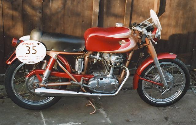 1959 Ducati 175cc Silverstone Super Frame no. DM175/78748 Engine no. DM175/78722ST