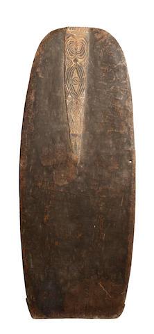 A Ramu shield, PNG, 130cm x 52cm