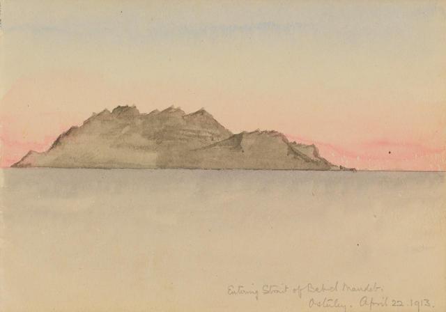 CHERRY-GARRARD (APSLEY) Winsor & Newton Sketchbook, 1913