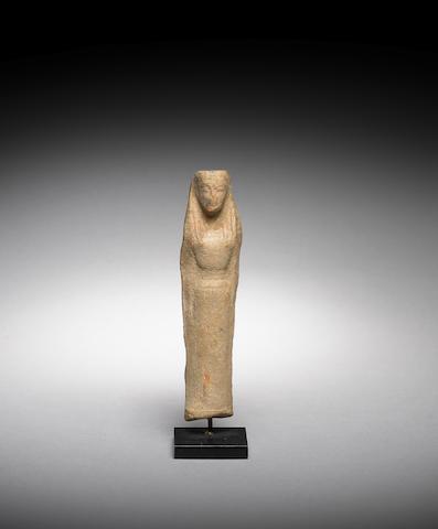 A Greek terracotta kore