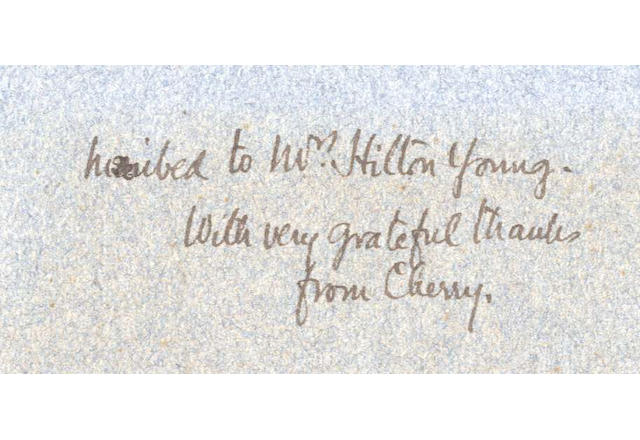 CHERRY-GERRARD (APSLEY) The Worst Journey in the World. Antarctic 1910-1913, 2 vol., Constable & Co., 1922