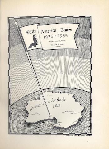 HOROWITZ (AUGUST) Little America Times 1933-1935, New York, 1935