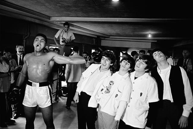 Chris Smith (British, born 1937) Ali vs The Beatles, 1964