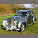 1955 Rolls-Royce Silver Dawn Saloon  Chassis no. SVJ109 Engine no. S119J