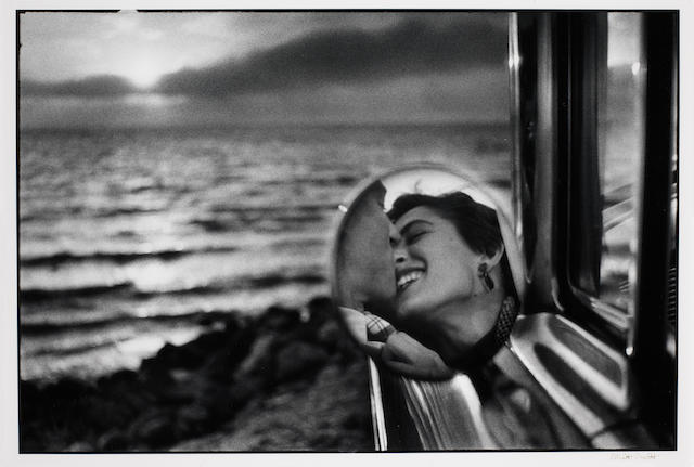 Elliott Erwitt (American, born 1928) California Kiss, 1955
