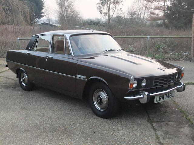 1973 Rover 2000TC Sports Saloon  Chassis no. 44624429D Engine no. 44616107B