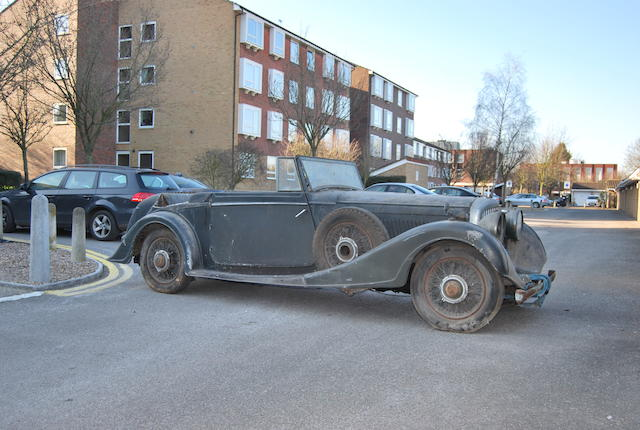 1937 Bentley 4¼-Litre Drophead Coupé  Chassis no. B197HM Engine no. W2BN