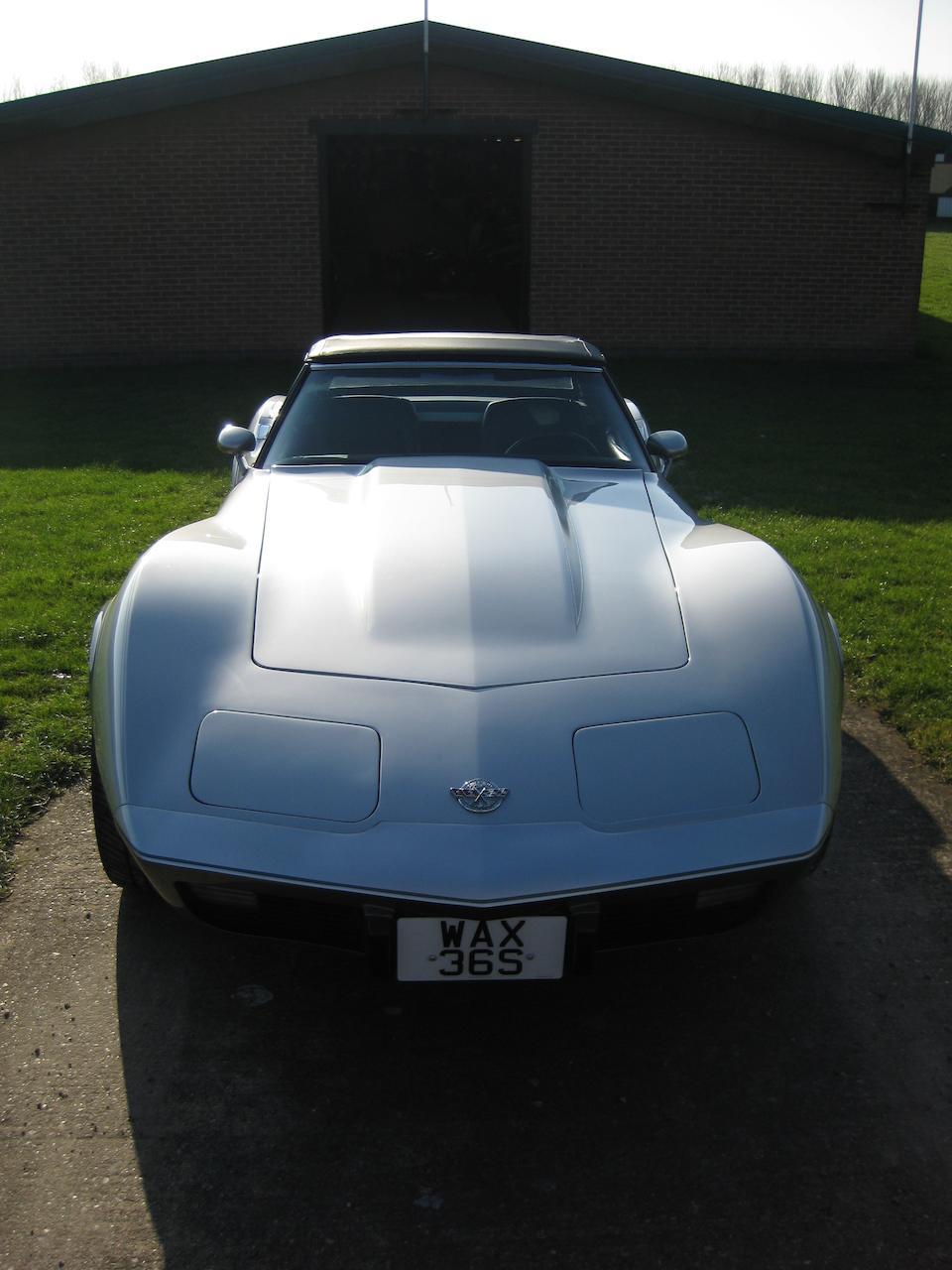 1978 Chevrolet Corvette 'Silver Anniversary' Convertible  Chassis no. 1Z87L8S433552 Engine no. V0627CUT185433552