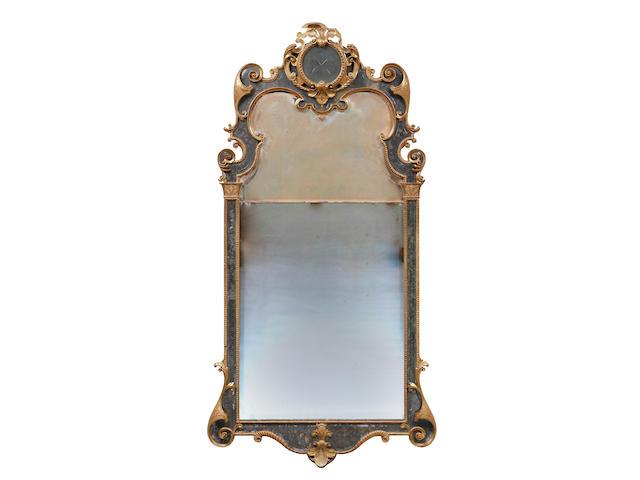 A George I giltwood pier mirror