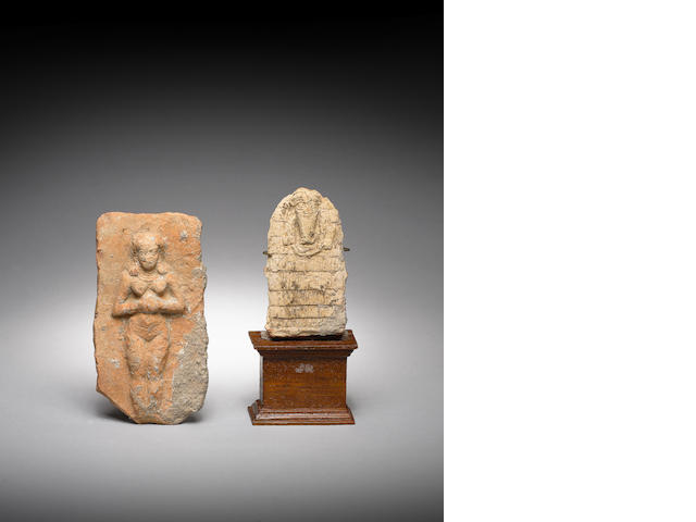 Two Mesopotamian terracotta votive plaques 2