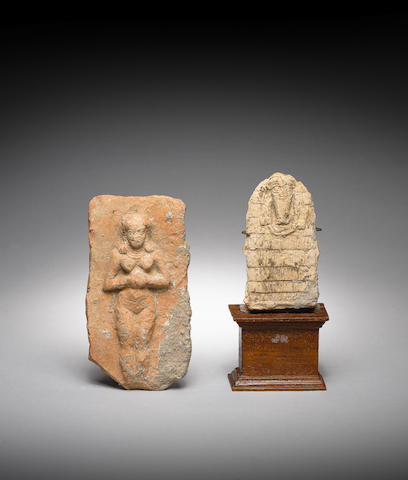Two Mesopotamian terracotta votive plaques 2