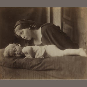 Julia Margaret Cameron (British, 1815-1879) Archibald Cameron and Mary Hillier, 1865 17.9 x 21.6cm (7 1/16 x 8 1/2in).