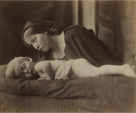 Julia Margaret Cameron (British, 1815-1879) Archibald Cameron and Mary Hillier, 1865