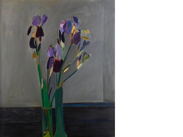 Ben Levene RA (British, 1938-2010) Irises