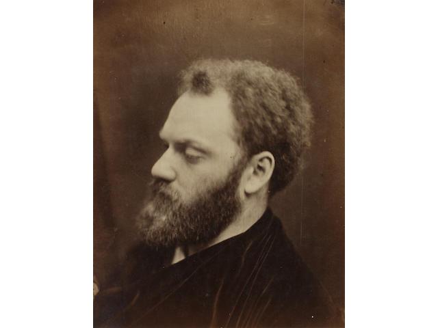 Julia Margaret Cameron (British, 1815-1879) Valentine Prinsep, 1867 35.1 x 27.1cm (13 13/16 x 10 11/16in).