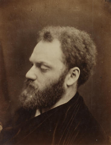 Julia Margaret Cameron (British, 1815-1879) Valentine Prinsep, 1867