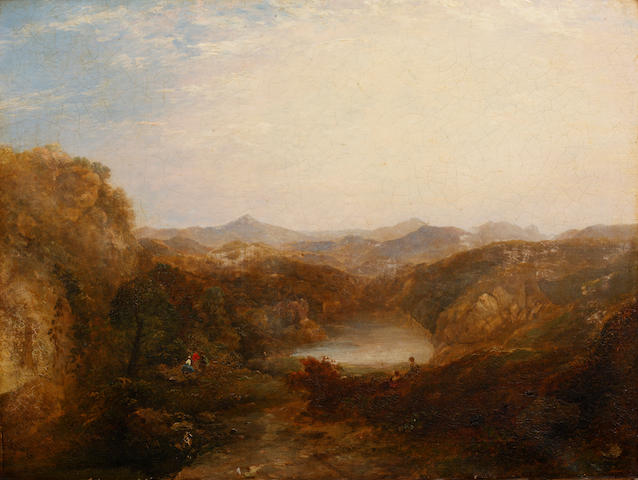 Thomas Creswick (1811-1869) Welsh Cwm