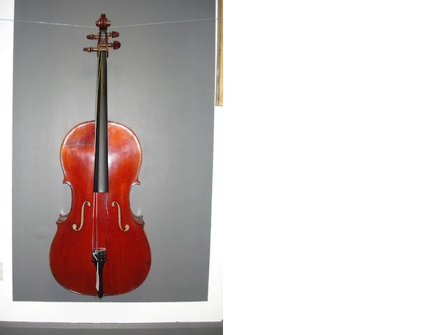 A Mirecourt Cello circa 1900 (3)