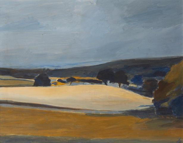 Ben Levene RA (British, 1938-2010) 'Herefordshire landscape'