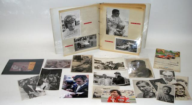 An motorsport Autograph Album