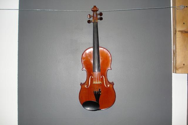 A French Violin, workshop of Emile Menneson, circa 1900 (1)
