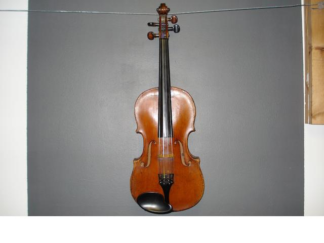 An Italian Violin, attributed to Emilio Celani, circa 1880 (4)