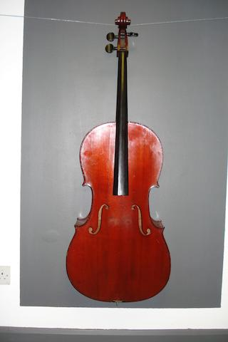A Mirecourt Cello By JTL circa 1900 (2)