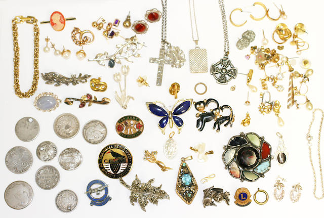 A large collection of jewellery, (qty)