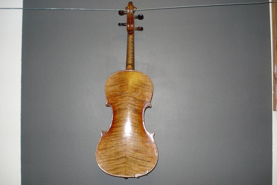 A German Violin by Gebruder Wolff, Kreuznach, 1886 (3)