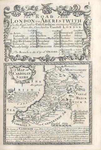 OWEN (JOHN) and EMANUEL BOWEN. Britannia Depicta or Ogilby Improv'd, 1731