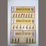 Johillco Fusiliers in original 'Infantry of the Line' boxes 21 21