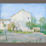 Vincente Mulet Claver (Spanish, 1897-1945) Farmhouse