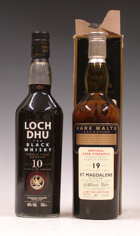 Loch Dhu-10 year oldSt. Magdalene-19 year old-1979