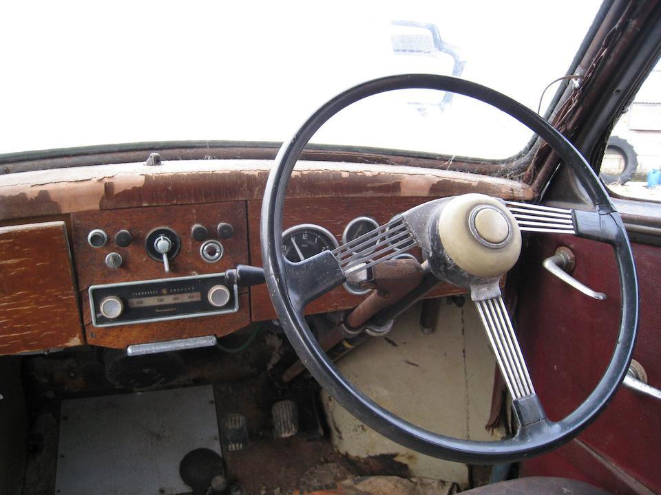 1952 Jowett Javelin Saloon  Chassis no. EII/PD/19443 Engine no. E2/PD/22380/D