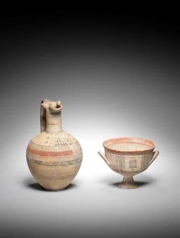 Two Cypriot bichrome ware vessels 2