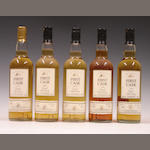 Dailuaine-30 year old-1973Benriach-27 year old-1976Dallan Dhu-20 year old-1977Inchgower-24 year old-1980MacDuff-24 year old-1984
