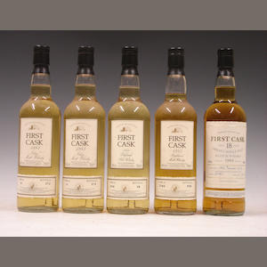 Caol Ila-20 year old-1983 (2)Brora-23 year old-1981Balblair-22 year old-1975Highland Park-18 year old-1989