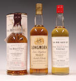 The Balvenie Single Barrel-15 year old-1980  Longmorn-15 year old  Aberlour-Glenlivet
