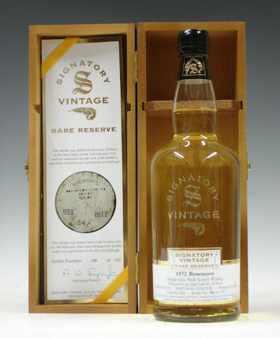 Bowmore-30 year old-1972