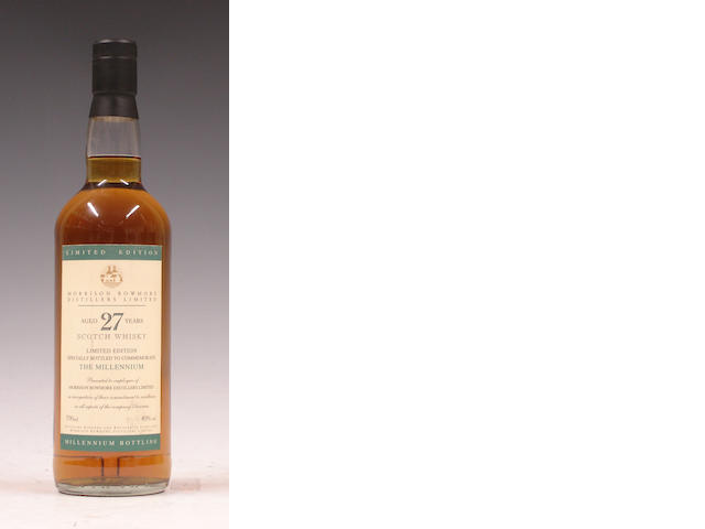 Morrison Bowmore Millennium Blend-27 year old