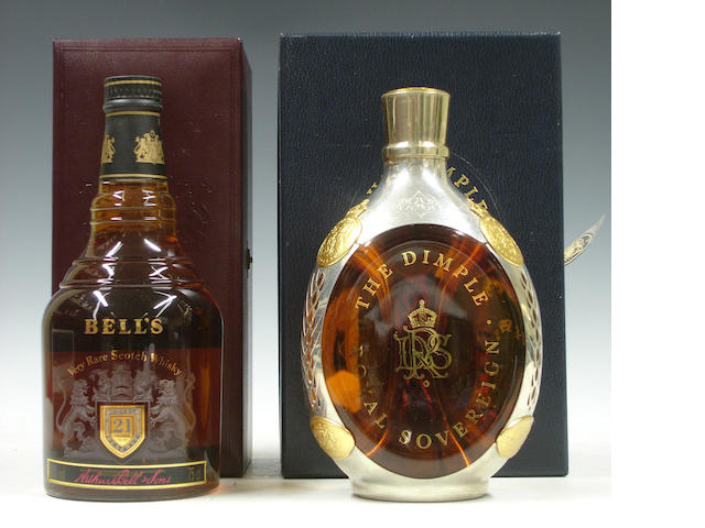 Bell's Royal Reserve-21 year old<BR /> The Dimple Royal Sovereign