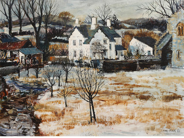 Jeremy King (British, 1933) Hawkshead