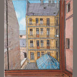 Peter Snow (1927-2008) Budapest Flats; and Kiefer City (2)