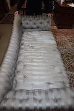 A large Victorian day bed  Howard and Sons