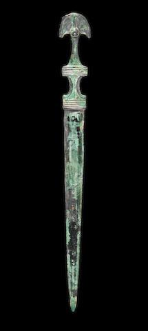 A Parthian bronze dagger
